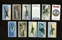 TRADE cards set  Modern British Aircraft, Canberra, Hawker, Attacker